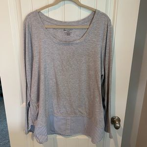 Lane Bryant double layer look blouse size 18/20